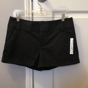 Black shorts by Alice + Olivia